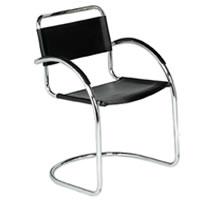 Artemis cantilever chrome armchair hire
