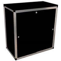 3' Lockable counter cupboard wth shelf hire