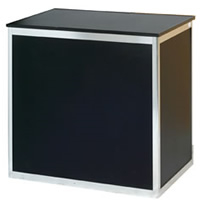1m Sales counter with shelf hire