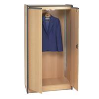 Lockable wardrobe hire