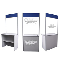 Point of Sale Counter - Registration hire