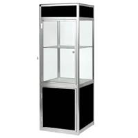 Glass Showcase Cabinet - Lights & lockable hire