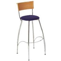 Eros beech backed bar stool hire