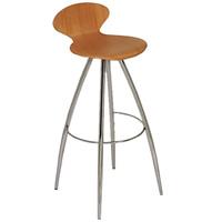 Athena backed bar stool hire