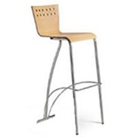 Aurora backed bar stool hire