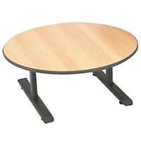 Cobra round tea table hire