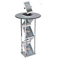 Literature Display Poseur Bar Table hire