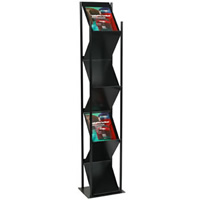 7 Sided Literature Stand hire