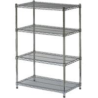 4-shelf display stand hire