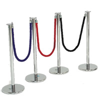 Red Ropes 1.5m hire
