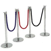 Black Ropes 1.5m hire