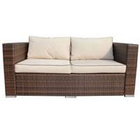 Rattan 2 Seater Sofa hire